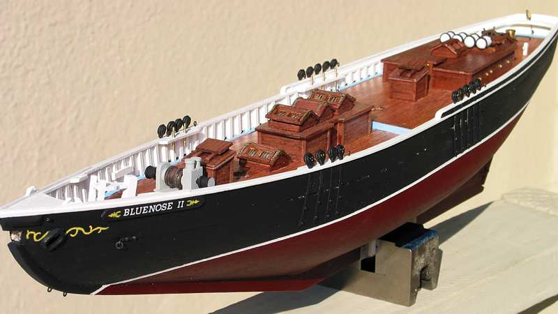 The Model Boatyard - Bluenose II
